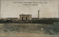 View of National Cash Register Factory