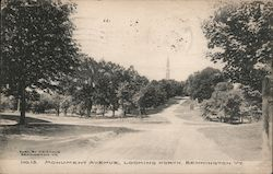 Monument Avenue, Looking North Postcard