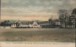 Vermont State Soldiers' Home Postcard