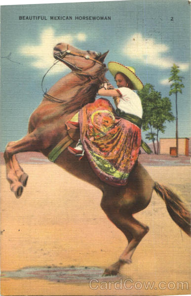 Beautiful Mexican Horsewoman Mexico