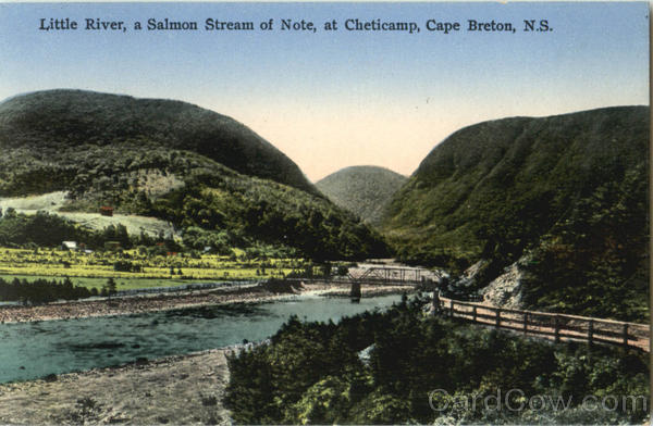 Little River Cape Breton Canada Nova Scotia