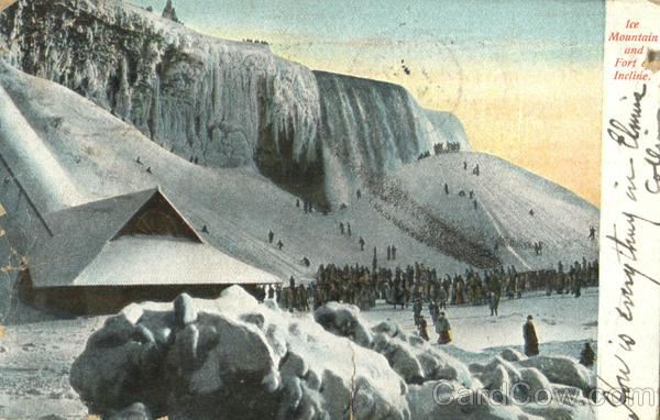 Ice Mountain And Fort & Incline Niagara Falls Ontario Canada
