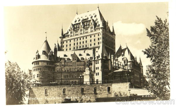 Chateau Frontenoc Quebec City Canada