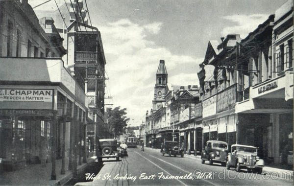 High St. Looking East Fremantle Australia Australia, NZ, South Pacific