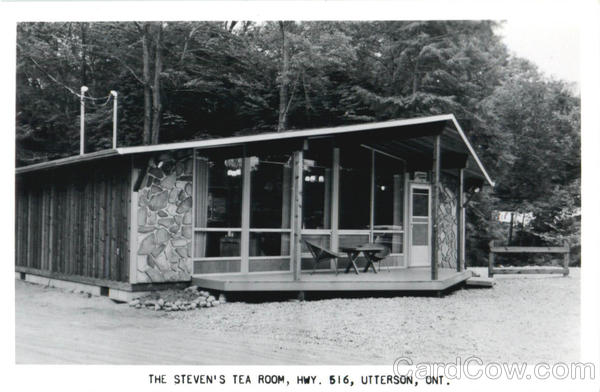 The Steven's Tea Room, Hwy 516 Utterson Ontario Canada