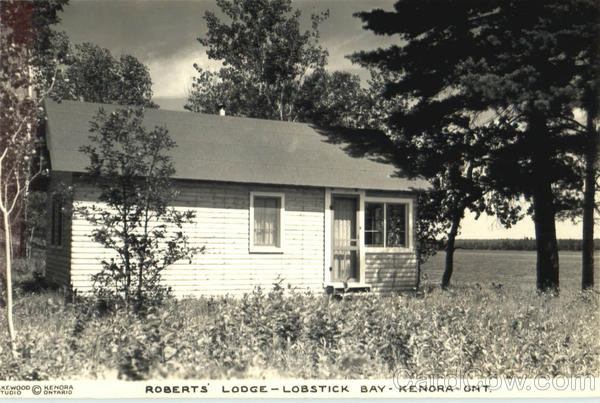 Roberts Lodge, Lobstick Bay Kenora Ontario Canada