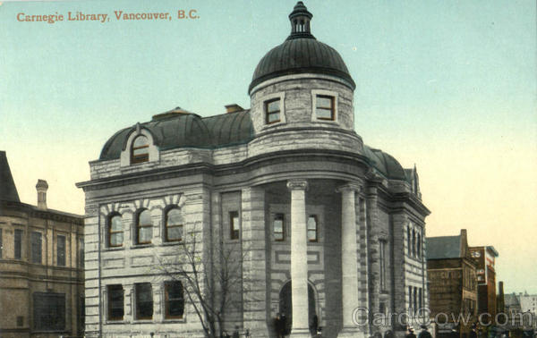 Carnegie Library Vancouver Canada British Columbia