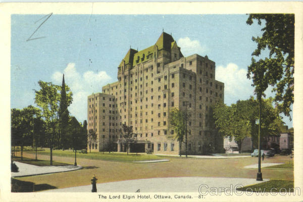 The Lord Elgin Hotel Canada Misc. Canada
