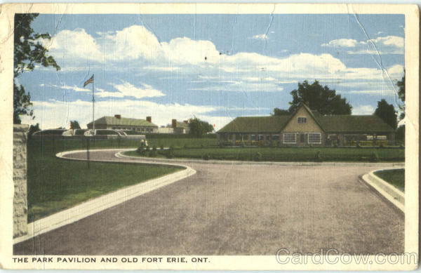 The Park Pavilion And Old Fort Erie Ontario Canada