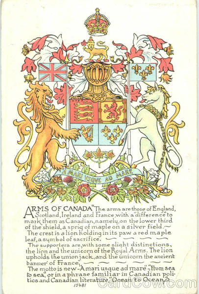 Arms Of Canada Misc. Canada