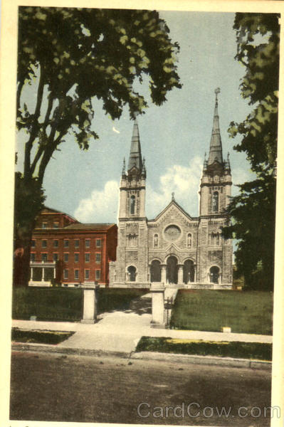 The Cathedral St. Hyacinthe Canada Quebec