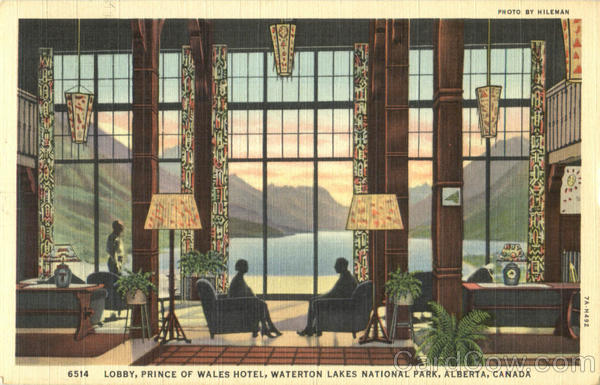 Prince Of Wales Hotel, Waterton Lakes National Park Canada