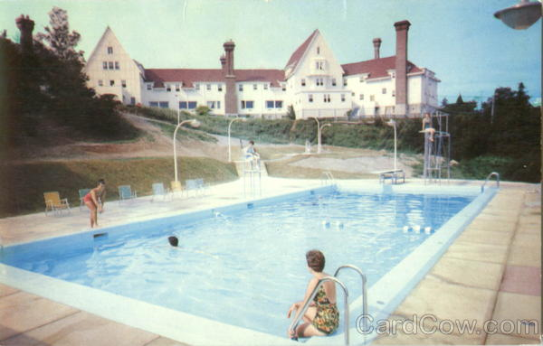The New Swimming Pool And The Keltic Lodge Cape Breton Canada
