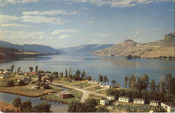 Beautiful Lake Kalamalka Vernon Canada British Columbia