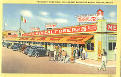 Mexicali Beer Hall Postcard
