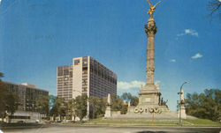 The Monument To Independence From Spain Postcard