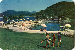 View Of The Private La Concha Beach Club Postcard