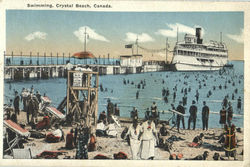 Swimming, Crystal Beach