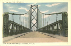 Isle Of Orleans Bridge