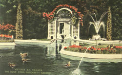 The Duck Pond, Butchart's Gardens