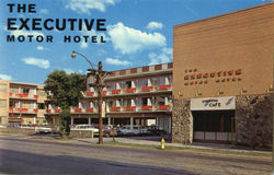 The Executive Motor Hotel, 621 King Street Postcard