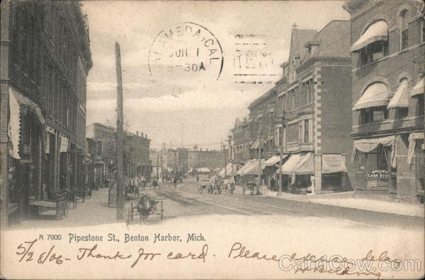 Pipestone Street Benton Harbor Michigan