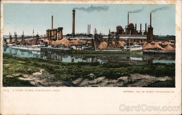 A Steel Plant Cleveland Ohio