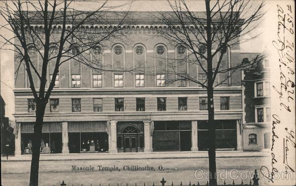 Masonic Temple Chillicothe Ohio