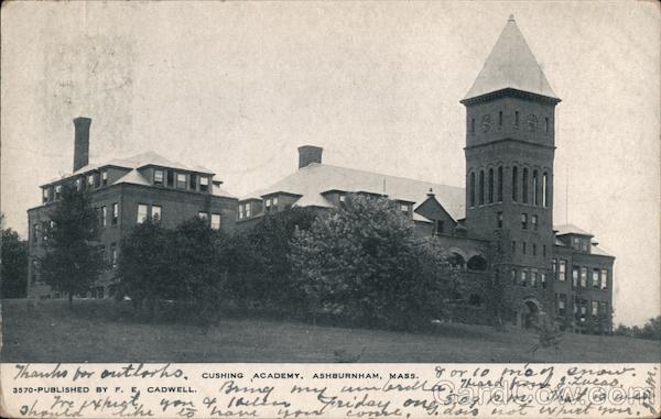 Cushing Academy Ashburnham Massachusetts