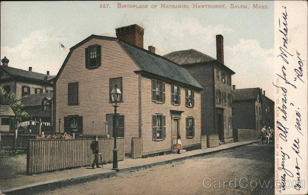 Birthplace of Nathaniel Hawthorne Salem Massachusetts