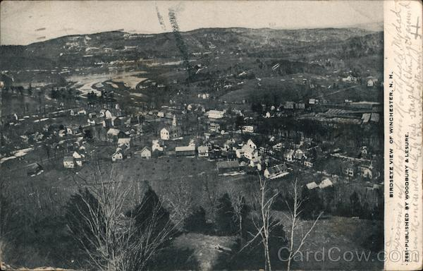 Birdseye View of Winchester, N.H. New Hampshire