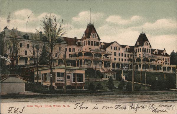 New Weirs Hotel Weirs Beach New Hampshire