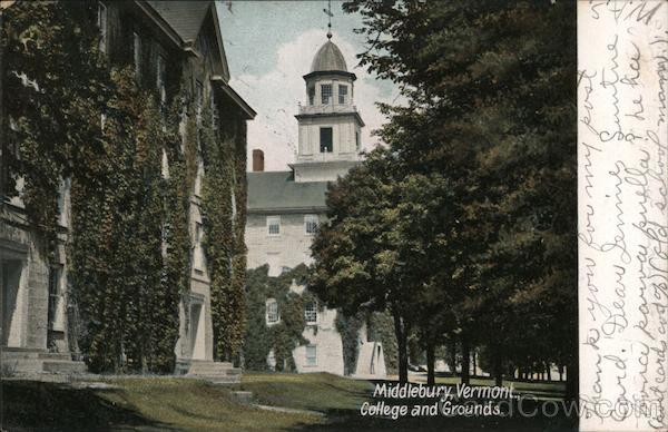 College and Grounds Middlebury Vermont