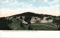 Adirondack Cottage Sanatorium Postcard