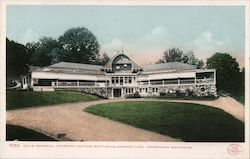 Child Memorial Infirmary Cottage Sanitarium Postcard