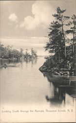 Looking South through the Narrows Postcard