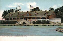 Yacht Club House Postcard