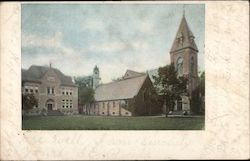 St. Lukes Episcopal Church Postcard