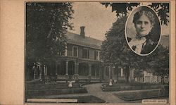 William McKinley Home Postcard