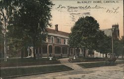 McKinley Home Postcard