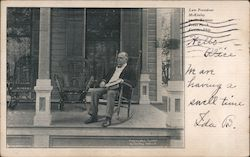 Late President McKinley on the Famous Front Porch Postcard