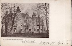 Conservatory of Music, Oberlin College Postcard