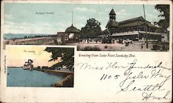 Cedar Point, The Beach Pavilion, The Landing