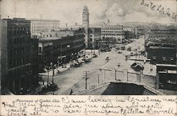 Panorama of Canton, Ohio Postcard
