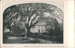 Reeves' House, Reeves Hill, Built 1710