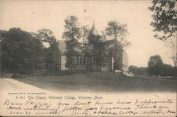The Chapel - Wellesley College Postcard
