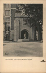 Porte Cochere, Tower Court, Wellesley College