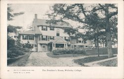 The President's House - Wellesley College