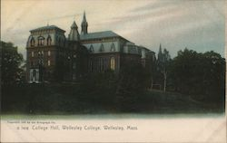 College Hall, Wellesley College