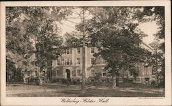 Wellesley - Wilder Hall